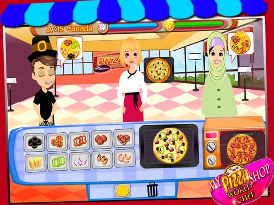 私のピザショップ世界のシェフ、ファーストフードクッキングゲームのおすすめ画像5