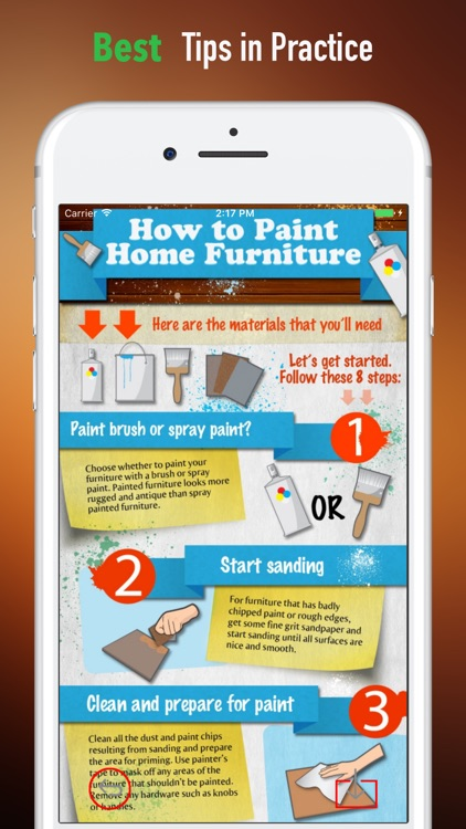 How to Paint Home Furniture-Simple Steps and Guide screenshot-3