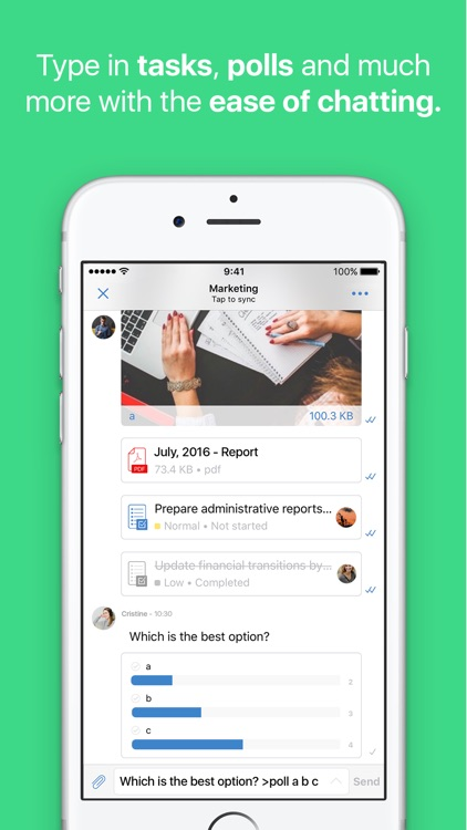 Kezmo: Enterprise Collaboration & Task Management