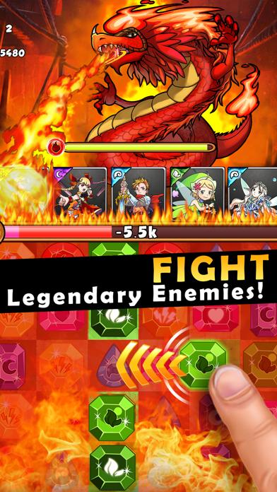 Dragons Kingdom War: Puzzle & Card RPG Game-2