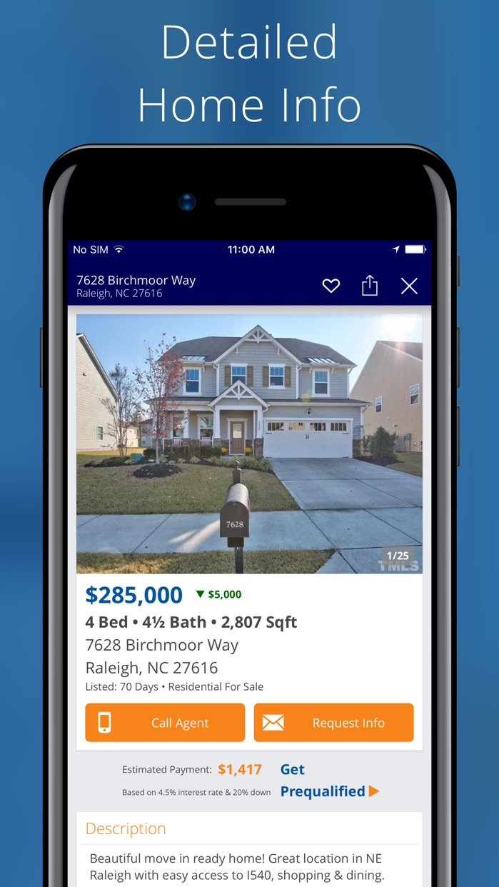 Homes for Sale, Rent & Home Values - Real Estate Screenshot