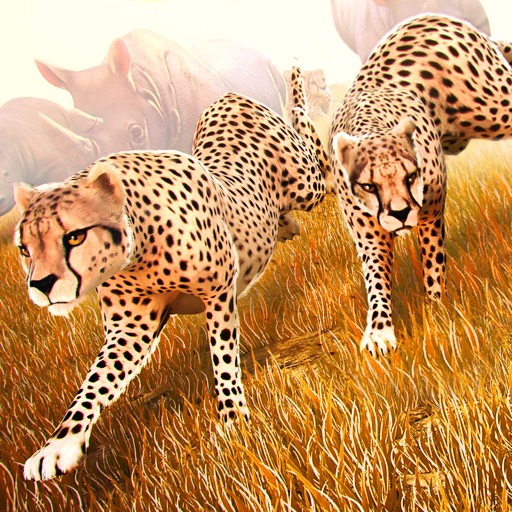 Wild Animal Simulator . Free Jungle Animals Racing iOS App