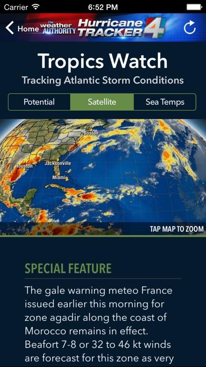 WJXT Hurricane Tracker