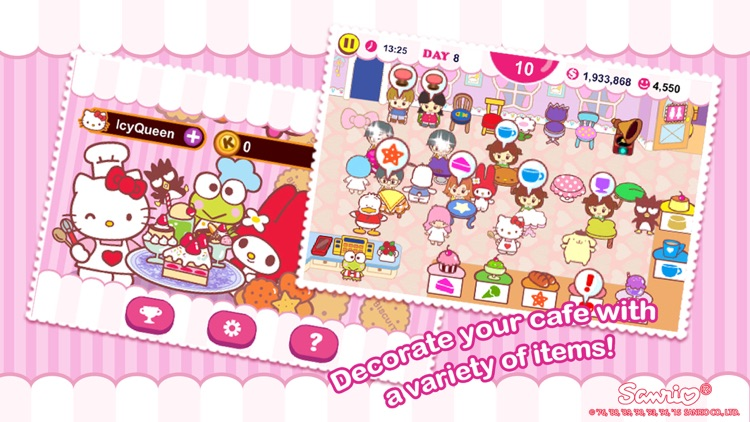 Hello Kitty Cafe! screenshot-3