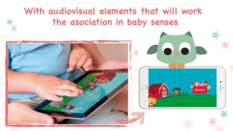 Smart baby stimulation activities development app screenshot-2