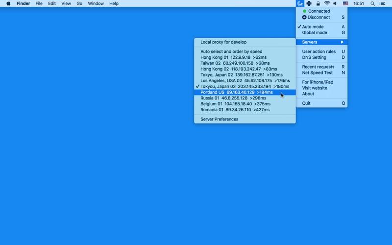 ShadowTunnel - Proxy Client For Shadowsocks скриншот программы 2