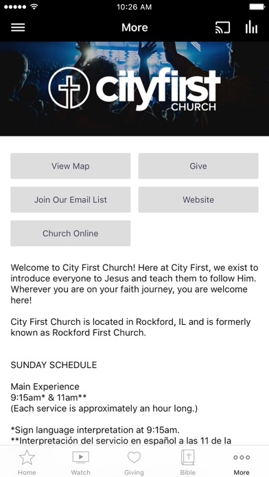 City First Church screenshot 3