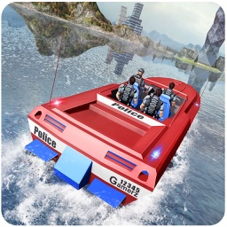 Power Boat Transporter Police – Coast Guard Drive
