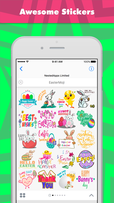 EasterMoji stickers by NestedApps Stickers screenshot one