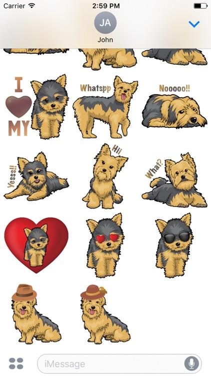 Yorkiemoji - Yorkie Emoji & Stickers