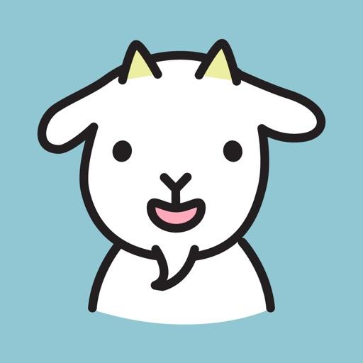 Cute Goat Stickers