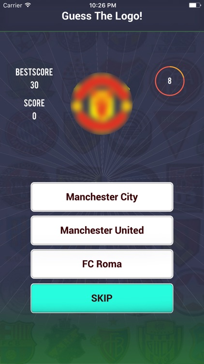 Guess the Football Team Logo - Club Icon Quiz screenshot-1