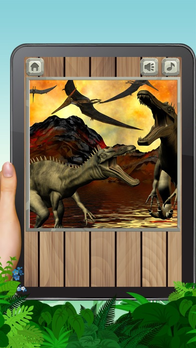 Dinosaurs Puzzles 2 screenshot three