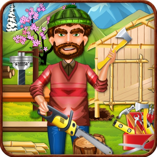 Town Tree House Building Games iOS App