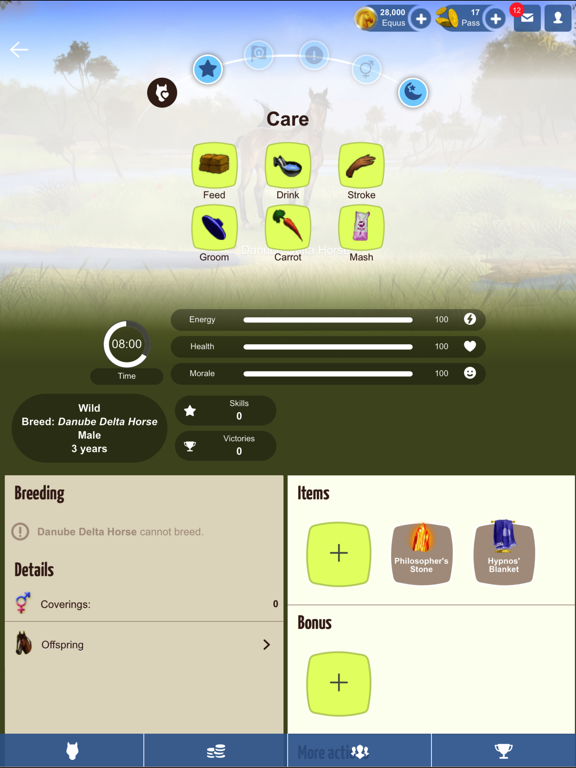 Howrse screenshot 8