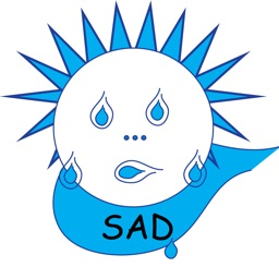 Sad Tear Face Emoji - Loser Stickers App