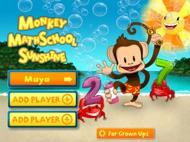 Monkey Math School Sunshine ipad images