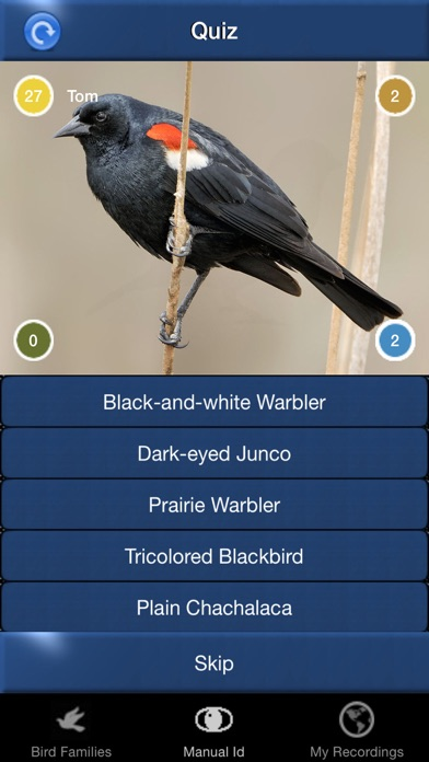 Bird Song Id USA Automatic Recognition Birds Songs Screenshot