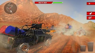疯狂的越野车死亡赛车游戏:越野赛车赛车 App 截图