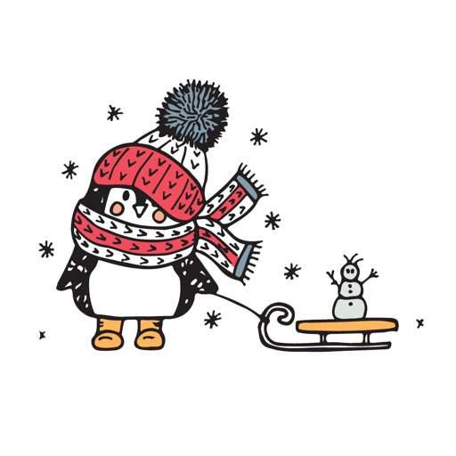 Penguin Seasons! Stickers