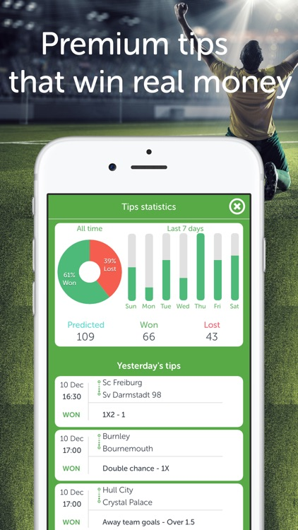 Bets Keeper - betting slips, tips and predictions by Tei Software