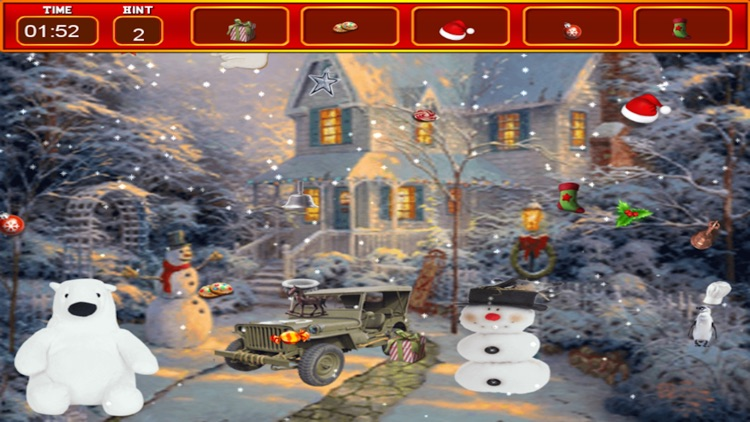 Christmas Hidden Object - Adventure Puzzle Games