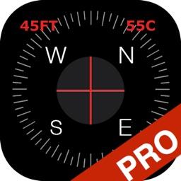 Compass Pro - True North Orienteering and Heading