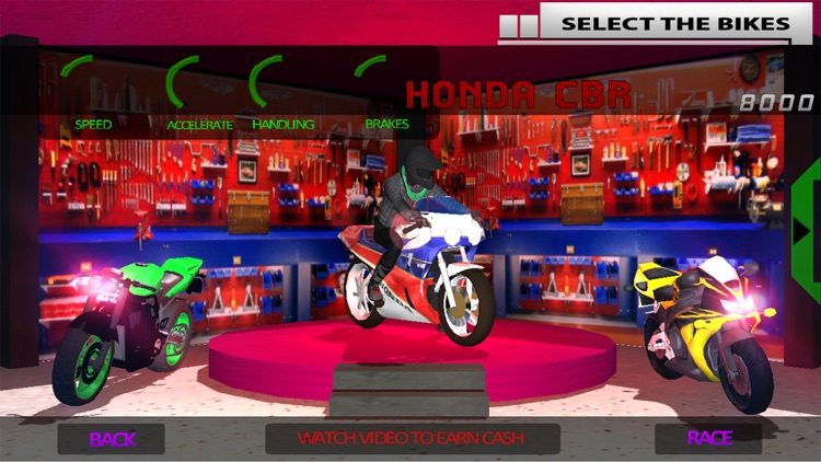 motorcycle games top speed