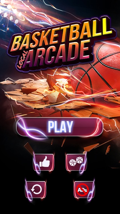 Basketball Local Arcade Game – Slam Dunk Challenge screenshot-0