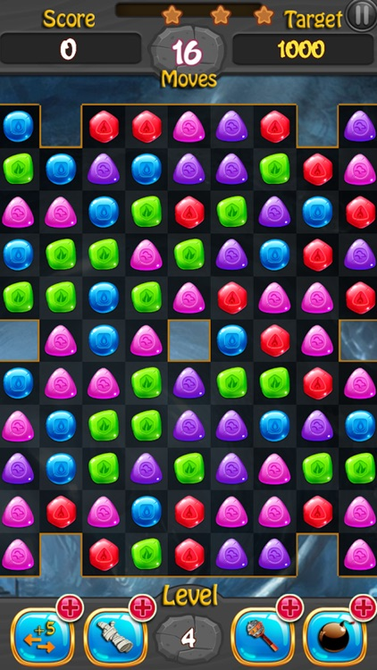 Jewels and Gems Match 3 Game screenshot-3
