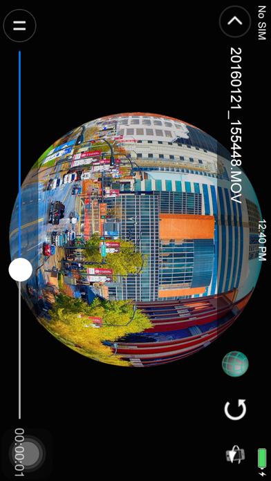 点击获取Denver 360° action camera