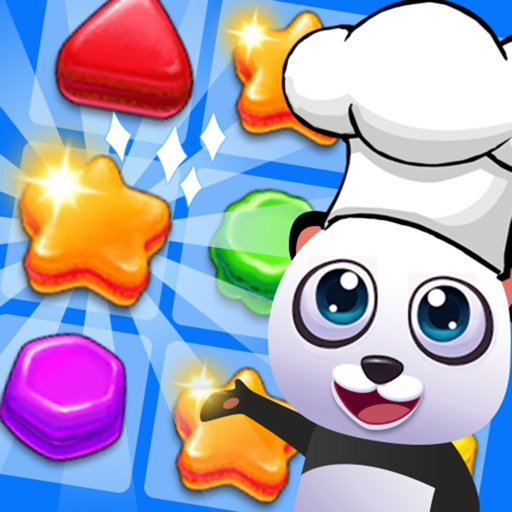 Panda Kitchen Story - Cookie Smash Match 3 icon