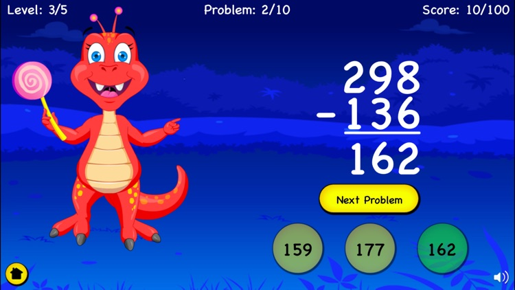 Subtraction For Kids - Games screenshot-3