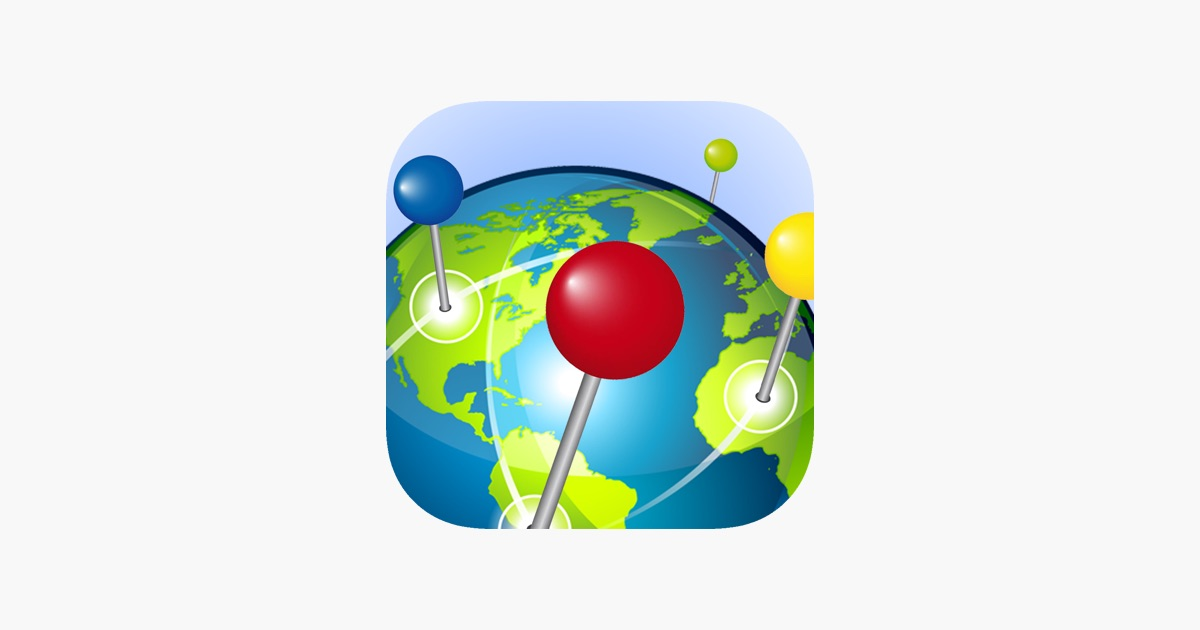 Pin the World on the App