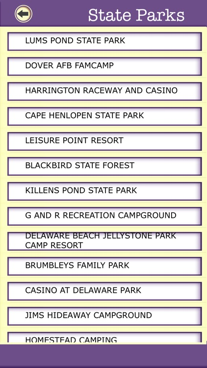 Delaware Campgrounds & Hiking Trails,State Parks screenshot-4