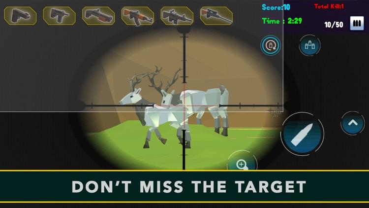 Wild Pixel Deer Sniper Hunting 2017