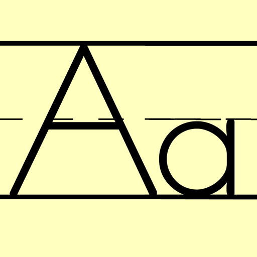 ZNuscript for Zaner-Bloser Elementary Letters