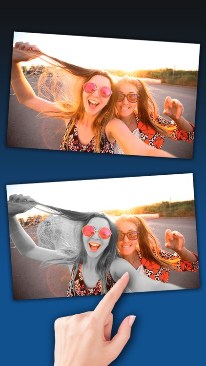 Color Splash effect – Black and white photo editor