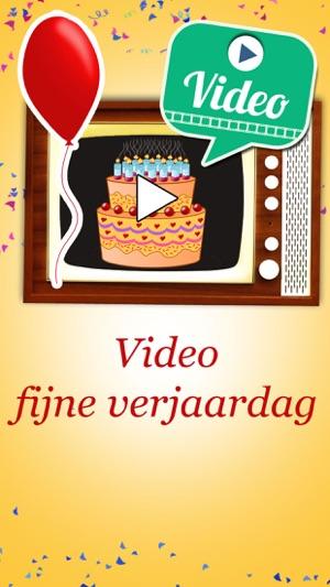 Gelukkige Verjaardag Video Verjaardagskaarten In De App Store