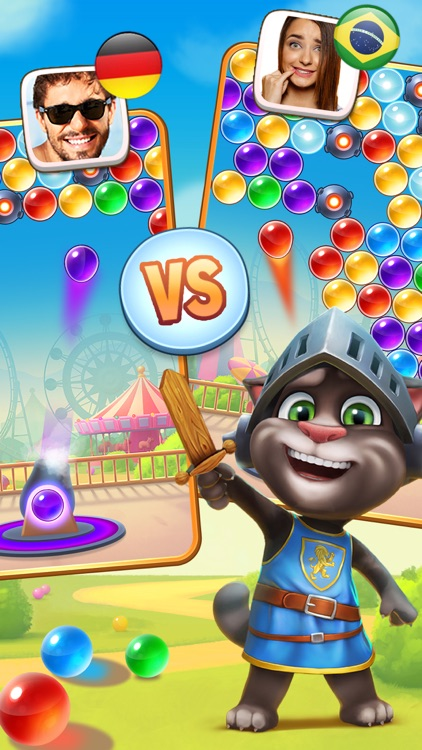 Talking Tom Bubble Shooter screenshot-3