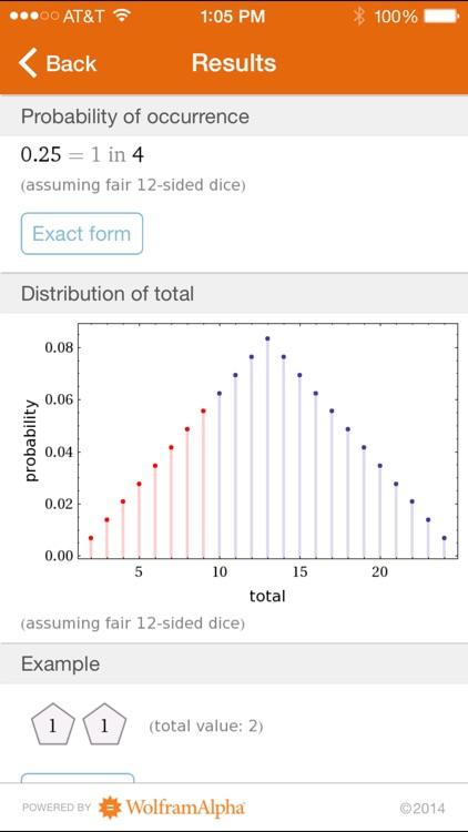 Wolfram Gaming Odds Reference App screenshot-3