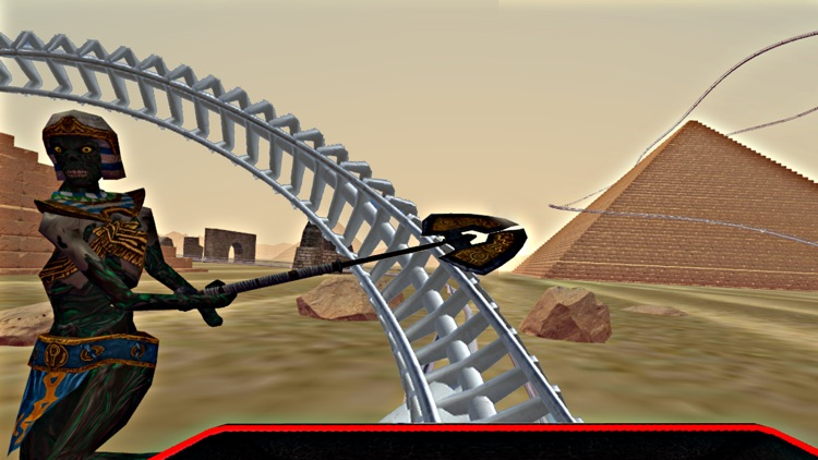 Roller Coaster Egypt - VR Virtual Reality