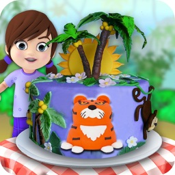 Jungle Cake Maker! Chef Club Bakery Cooking Game