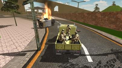 军队的运输卡车司机 军事货运卡车 App 截图