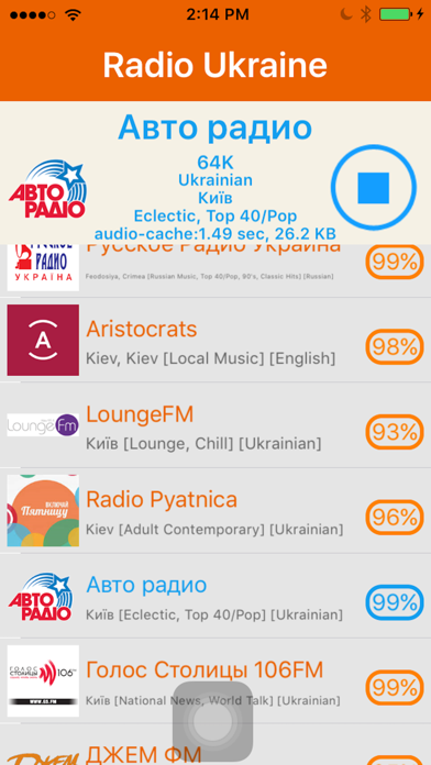 Radio Ukraine - радіо України screenshot four