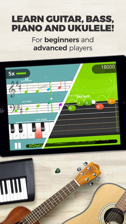 Yousician - Your personal music teacher app image
