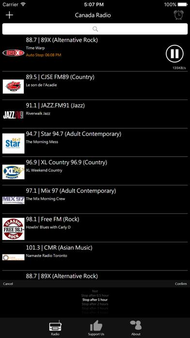 Canadian Radio screenshot three