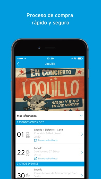 download Ticketmaster España apps 4