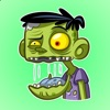 Funny Zombies Stickers iphone and android app