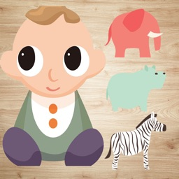 Animal Jigsaws - Baby Learning English Games